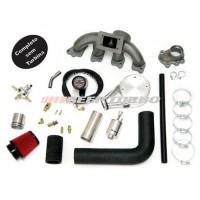 Kit turbo GM - Chevette 1.0 / 1.4 com Turbina