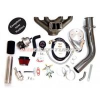 Kit Turbo VW - AP Pulsativo p/ baixo - Carburado - 1.8/1.9/2.0 com Turbina
