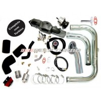 Kit turbo GM - Astra/Vectra - 2.0/2.2 - 16V com turbina