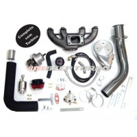 Kit Turbo VW - AP Carburado com Ar Cond. e Direção Hidr.- 1.6 / 1.8 / 2.0 com Turbina