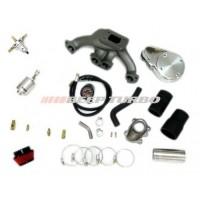 Kit turbo Fiat - Fiasa - Carburado 1.0 /1.3 (Uno e Similares) com Turbina