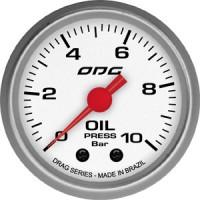 Manômetro ODG Drag Oil10 BAR 52 mm