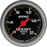 Manômetro ODG Evolution Boost 2 BAR 52 mm