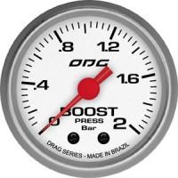 Manômetro ODG Drag Boost 2 BAR 52 mm