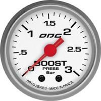 Manômetro ODG Drag Boost 3 BAR 52 mm