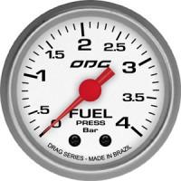 Manômetro ODG Drag Fuel 4 BAR 52 mm