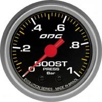 Manômetro ODG Evolution Boost 1 BAR 52 mm