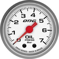 Manômetro ODG Drag Oil 7 BAR 52 mm