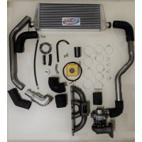Kit turbo c/ Intercooler Toyota Bandeirante Motor 14B